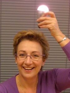 Gina & the ECO - lightbulb