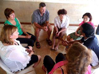 Lekgotla - a circle meeting where all voices are heard