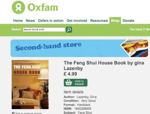 screen page of my book on sale online with Oxfam